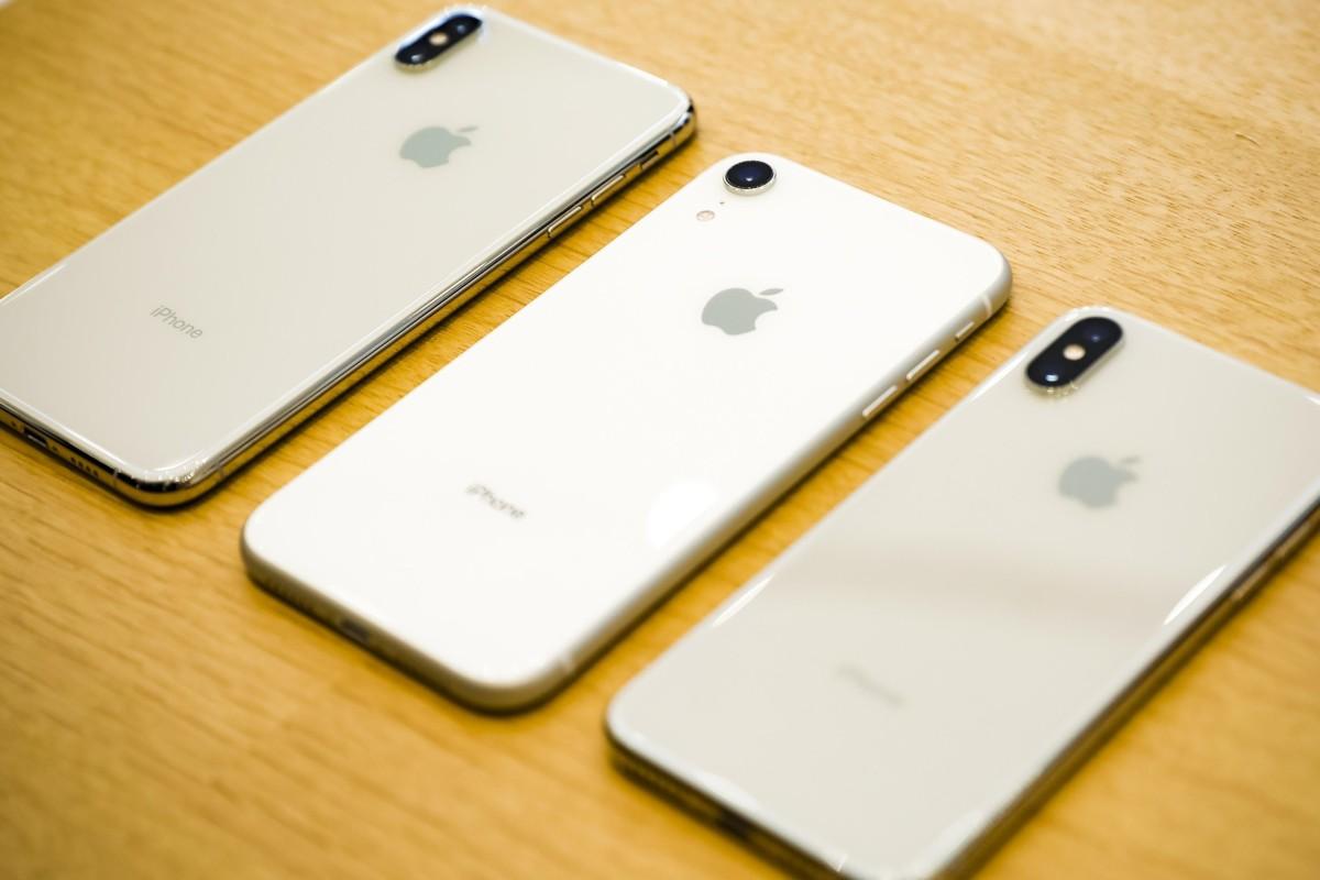 Est-ce de vrais iPhone ? Mystère !