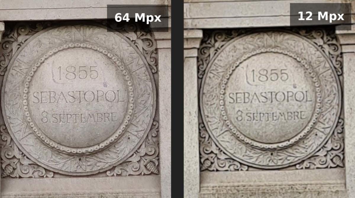 Le mode 64 mégapixels du Galaxy S20 offre généralement plus de détails dans l'image