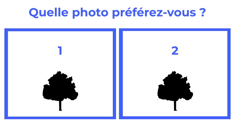 Les consignes du comparatif photo