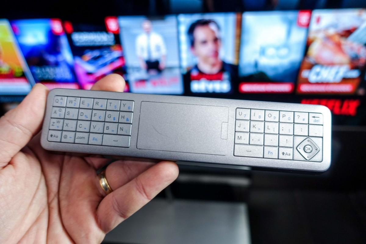 Un véritable clavier qui peut s'avérer pratique.