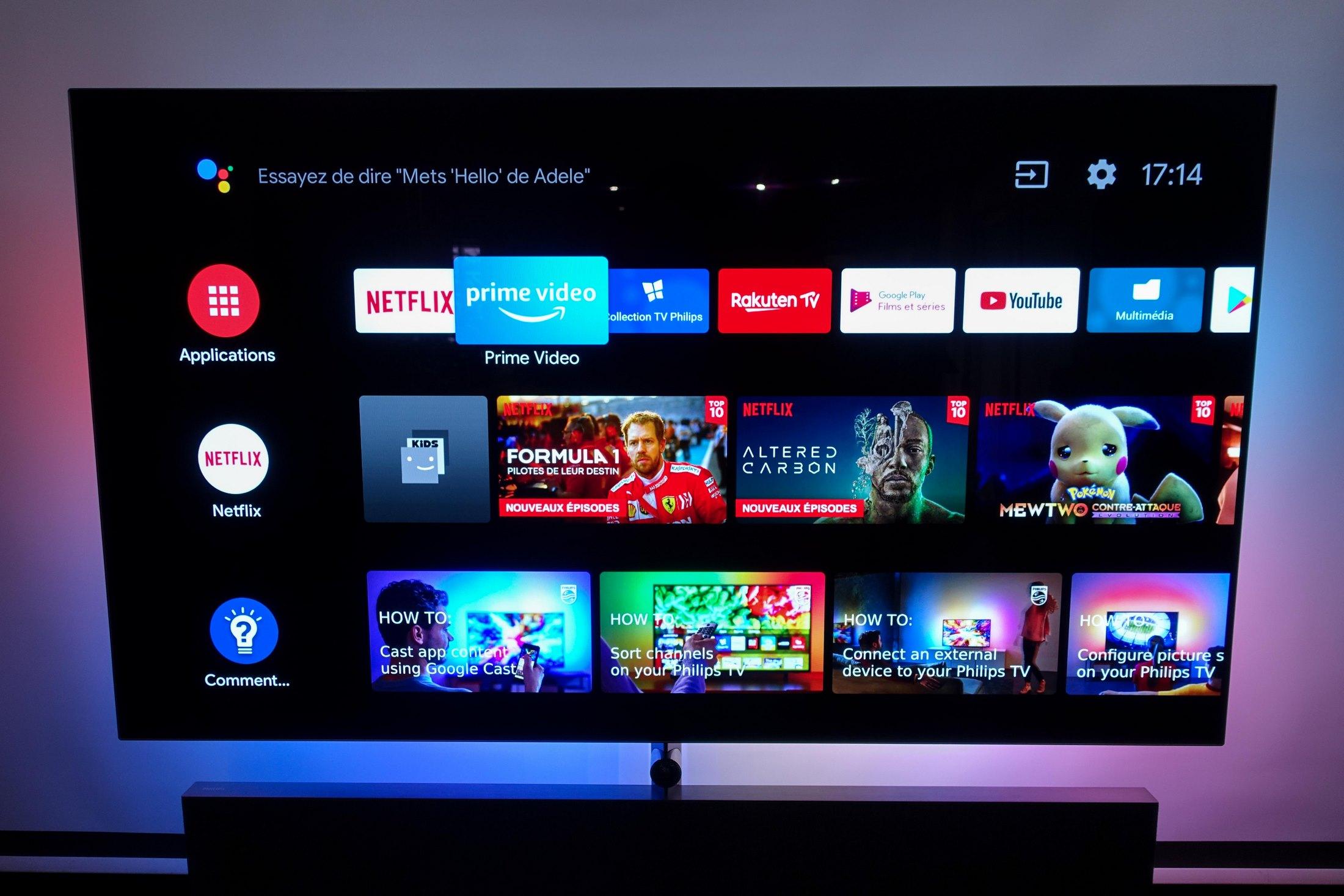 Android TV pourrait bientôt s'appeler Google TV