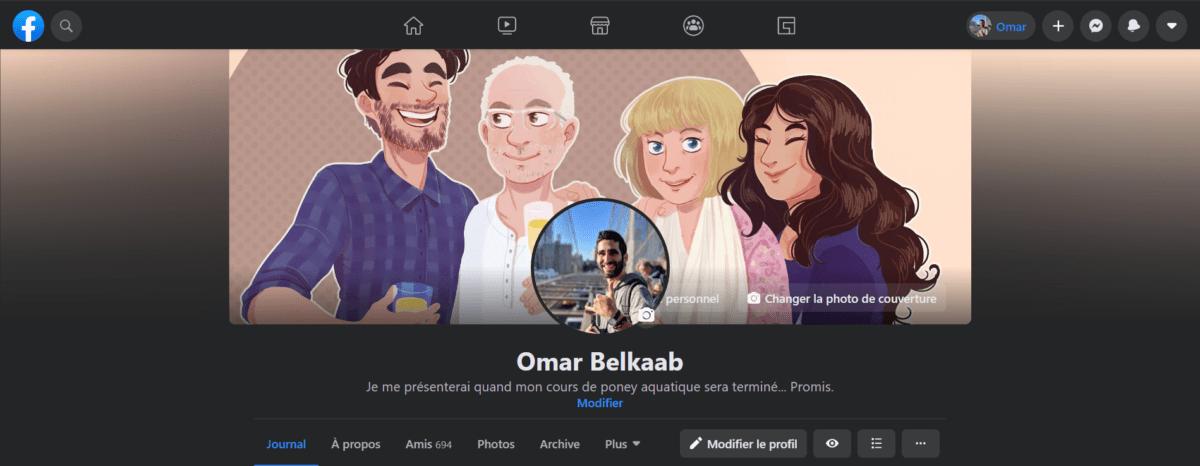 La présentation du profil sur le nouveau Facebook