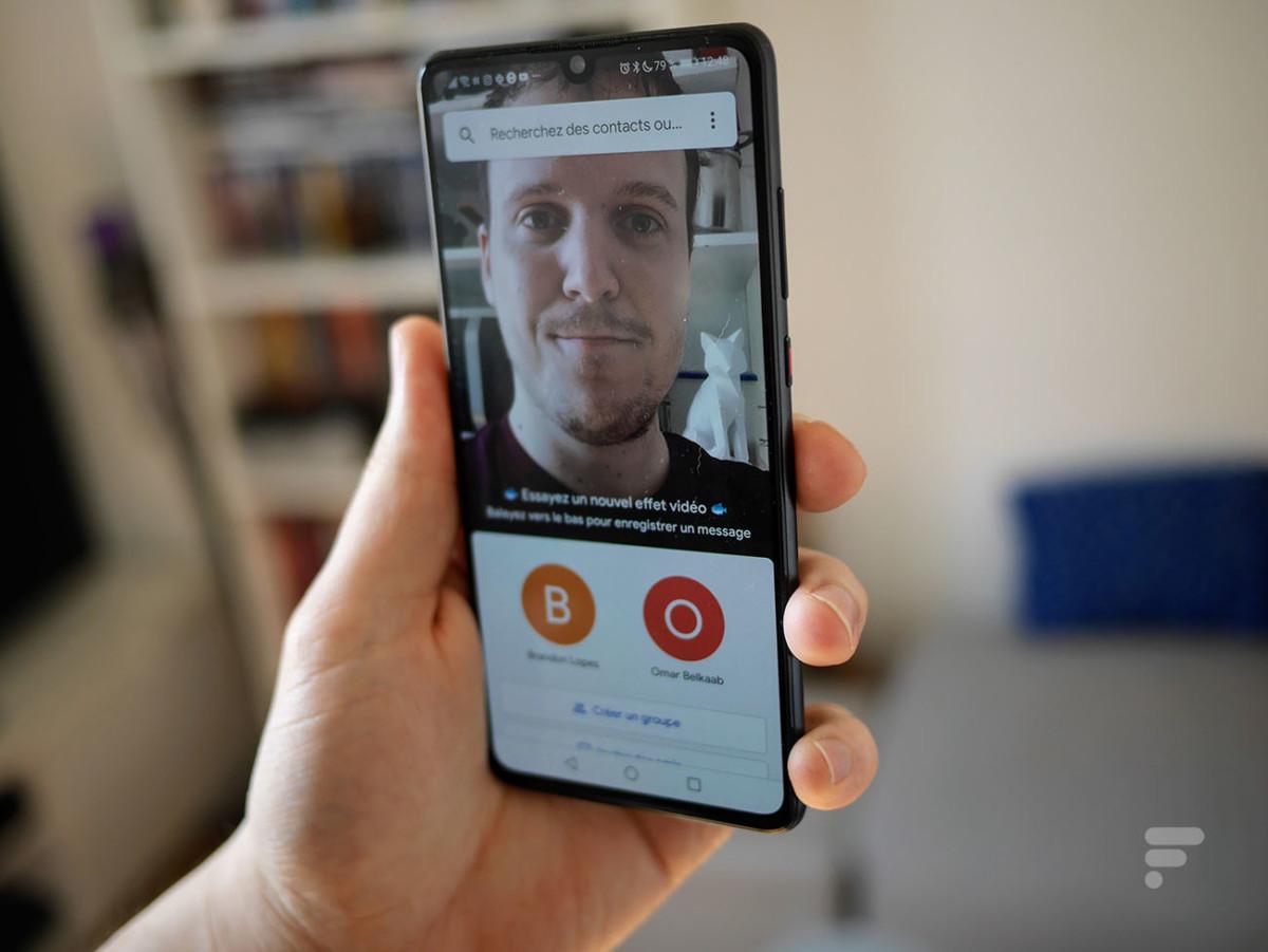 Google Duo permet d'appeler ses proches en vidéo