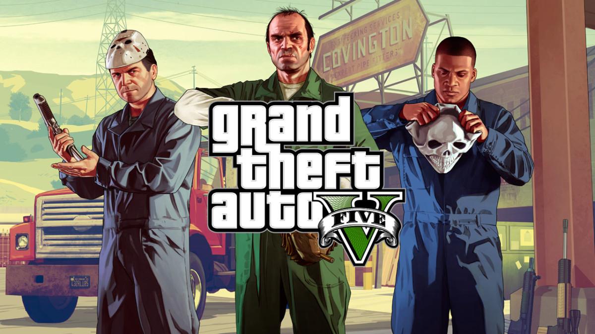 GTA V figure parmi les jeux les plus populaires de la PS4