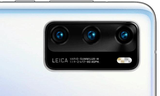 Appareil photo du Huawei P40