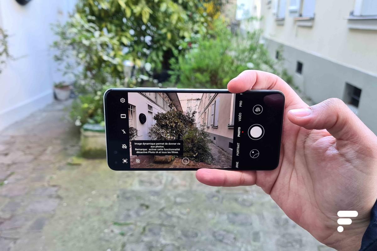L'application appareil photo du Huawei P40