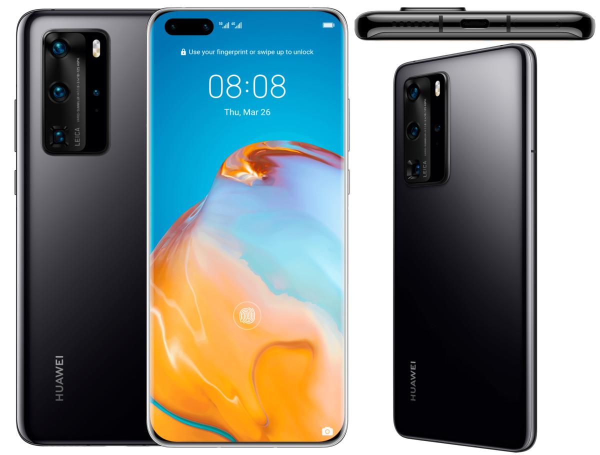 Huawei P40 et P40 Pro : l'essentiel des caractéristiques est sur le web avant l'annonce officielle