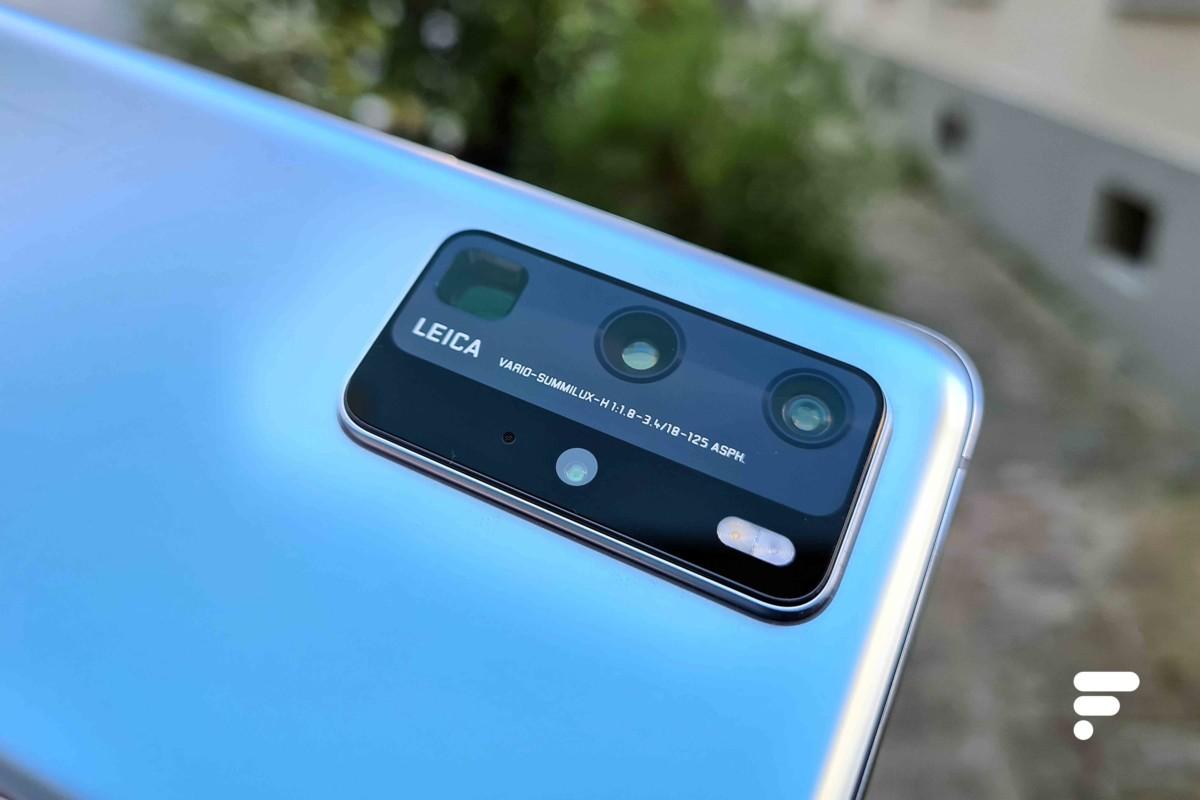 Quadruple module photo du Huawei P40 Pro