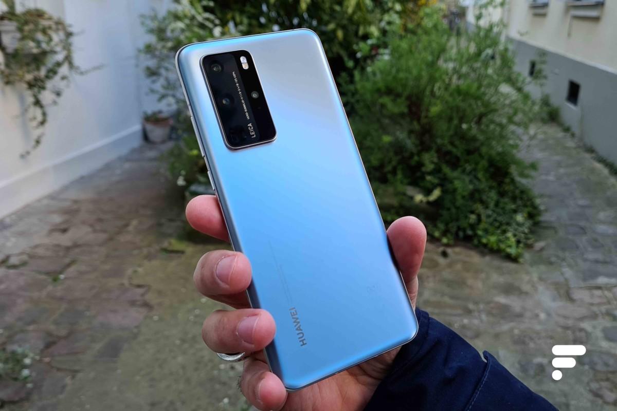 Le dos du HuaweiP40 Pro