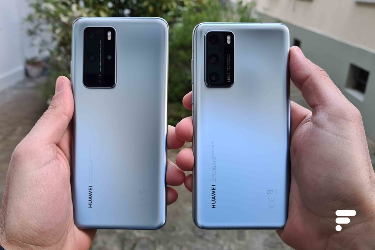Les Huawei P40 Pro et P40