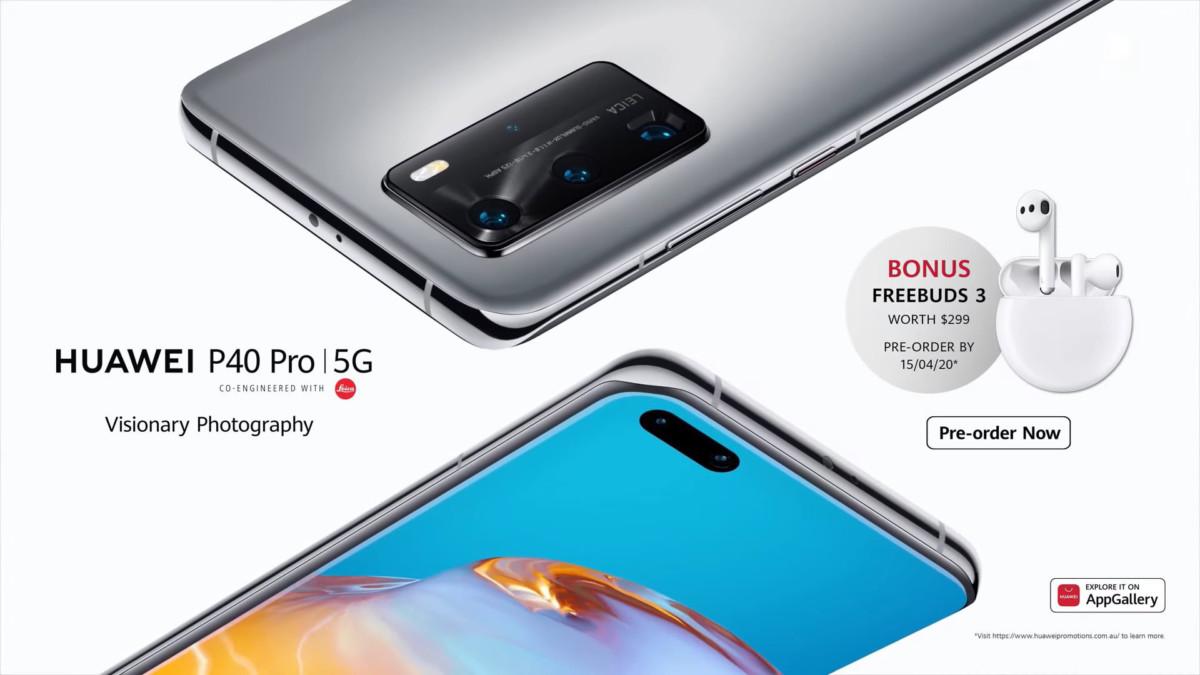 Offre de précommande Huawei P40 Pro