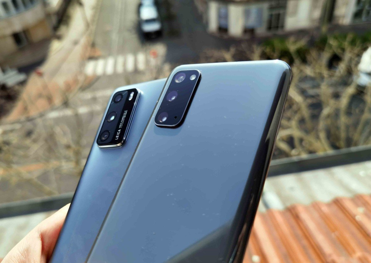 Comparatif photo : Huawei P40 vs Samsung Galaxy S20