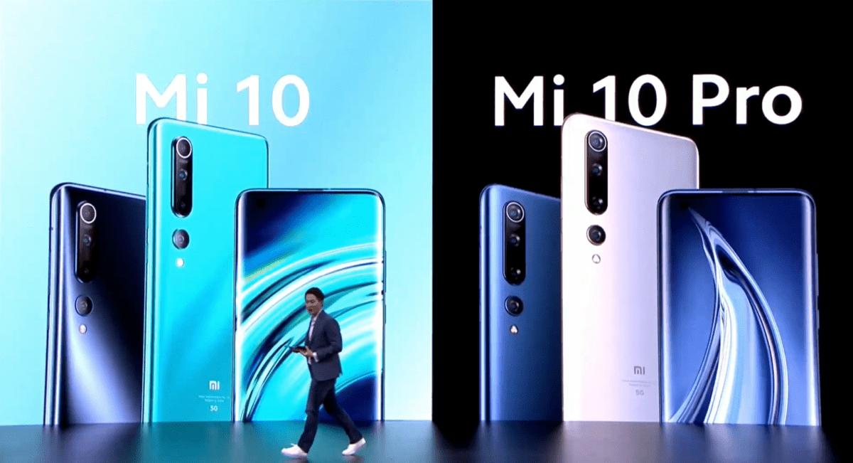 Xiaomi Mi 10 et Mi 10 Pro