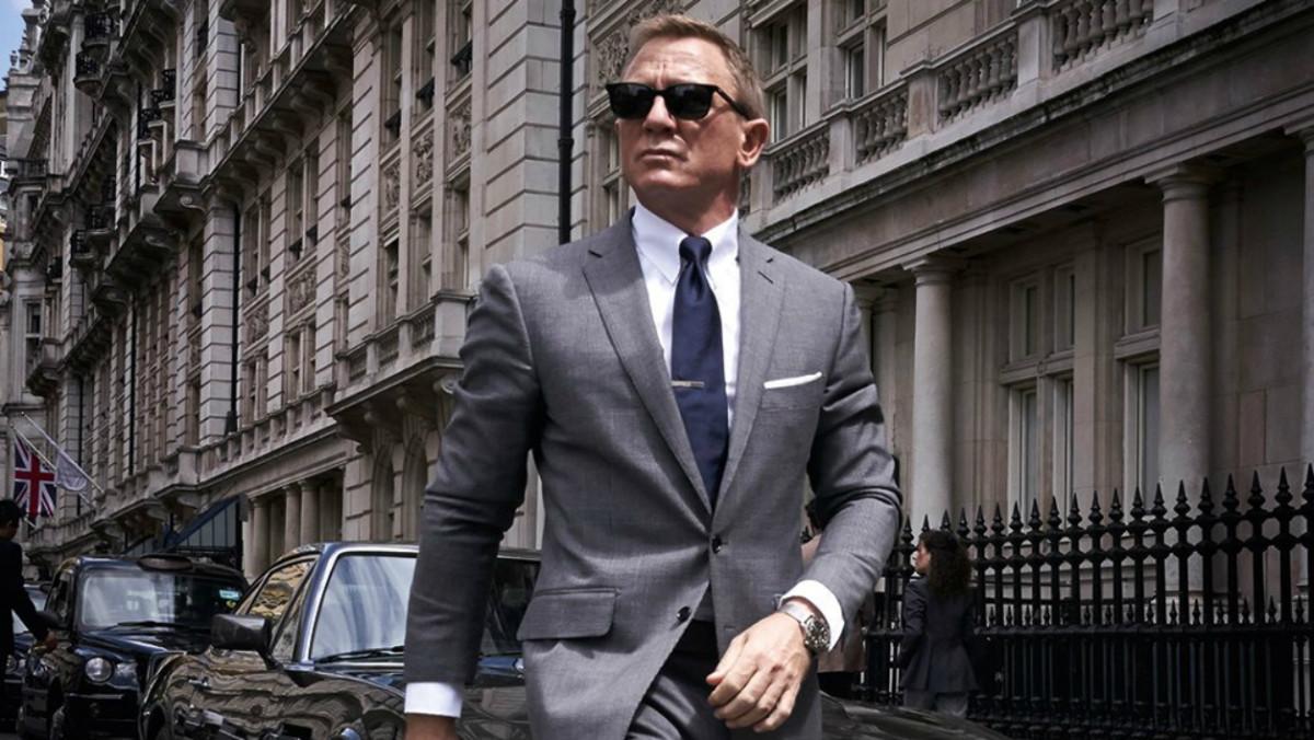 Daniel Craig interprète James Bond dans Mourir peut attendre