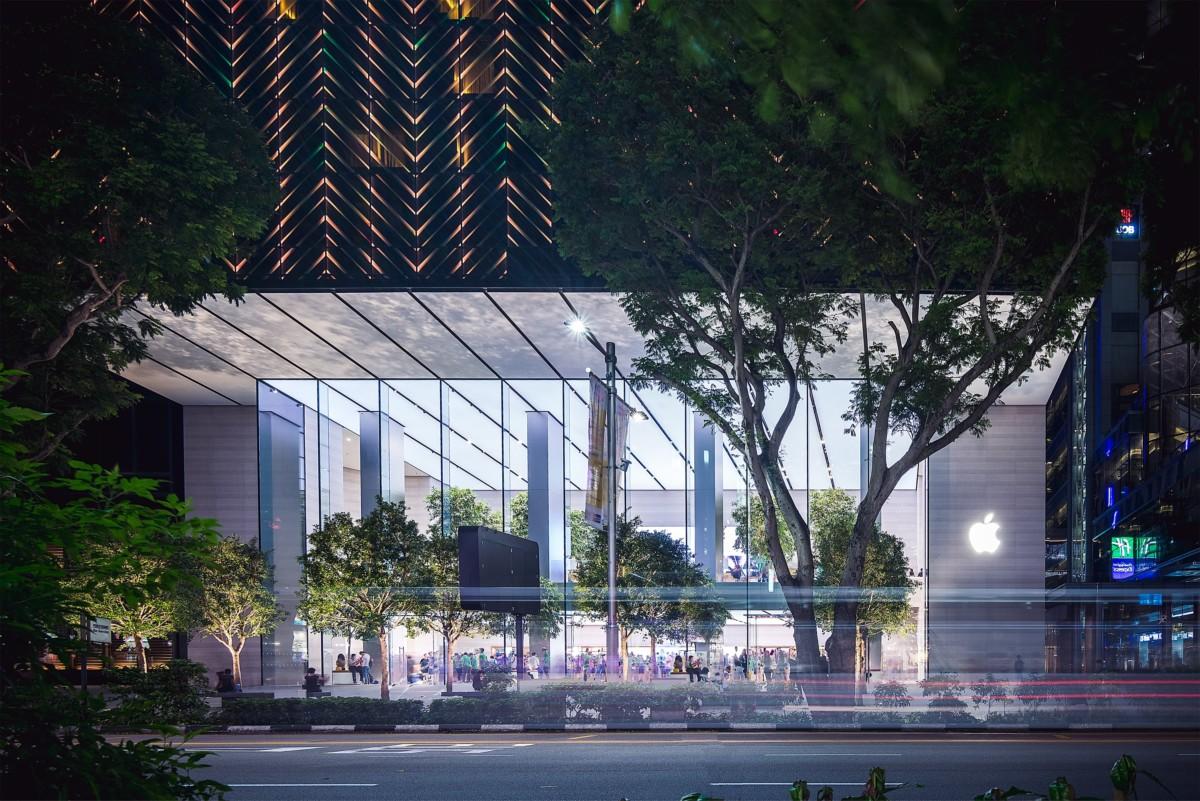 Apple Store de Orchard Road, à Singapour/Crédit: Kharl Anthony Paica – Unsplash