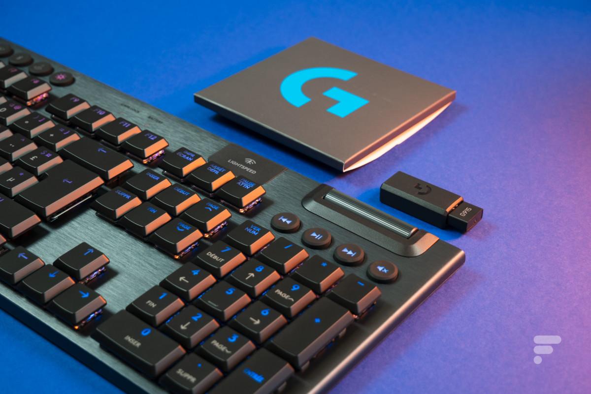 Test du Logitech G915 : le clavier sans fil par excellence