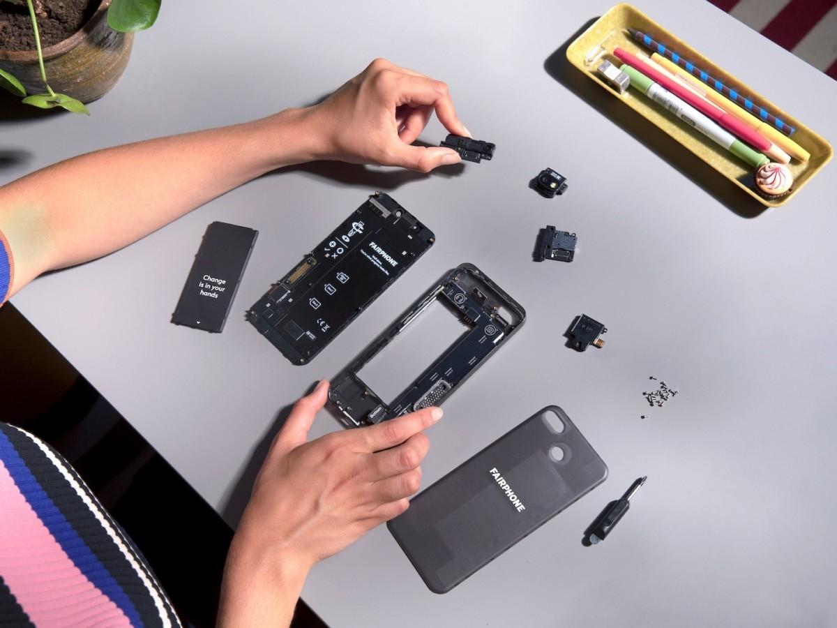 La réparabilité du Fairphone 3 est exemplaire