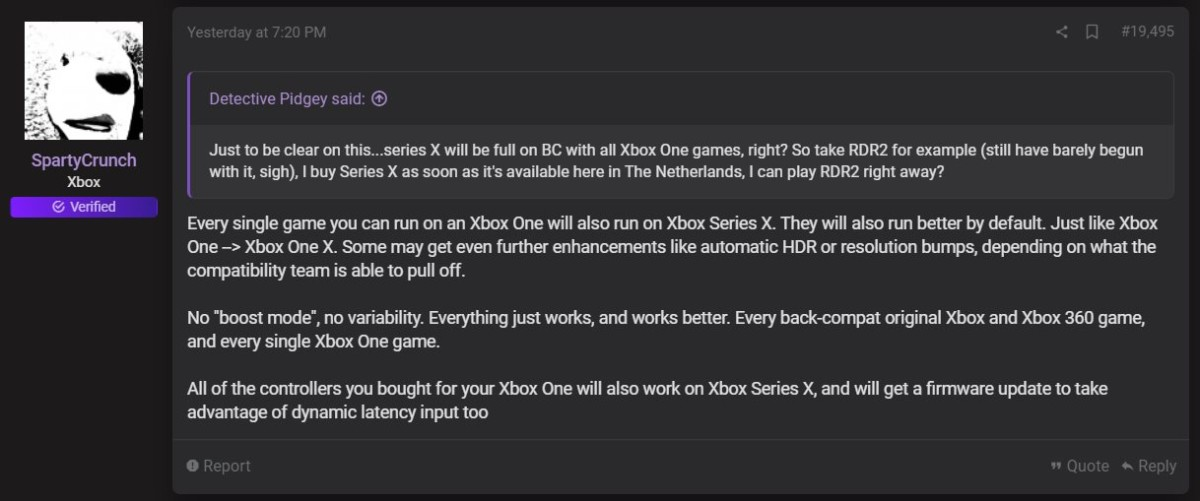 Contrairement à la PS5, la Xbox Series X est 100% rétrocompatible