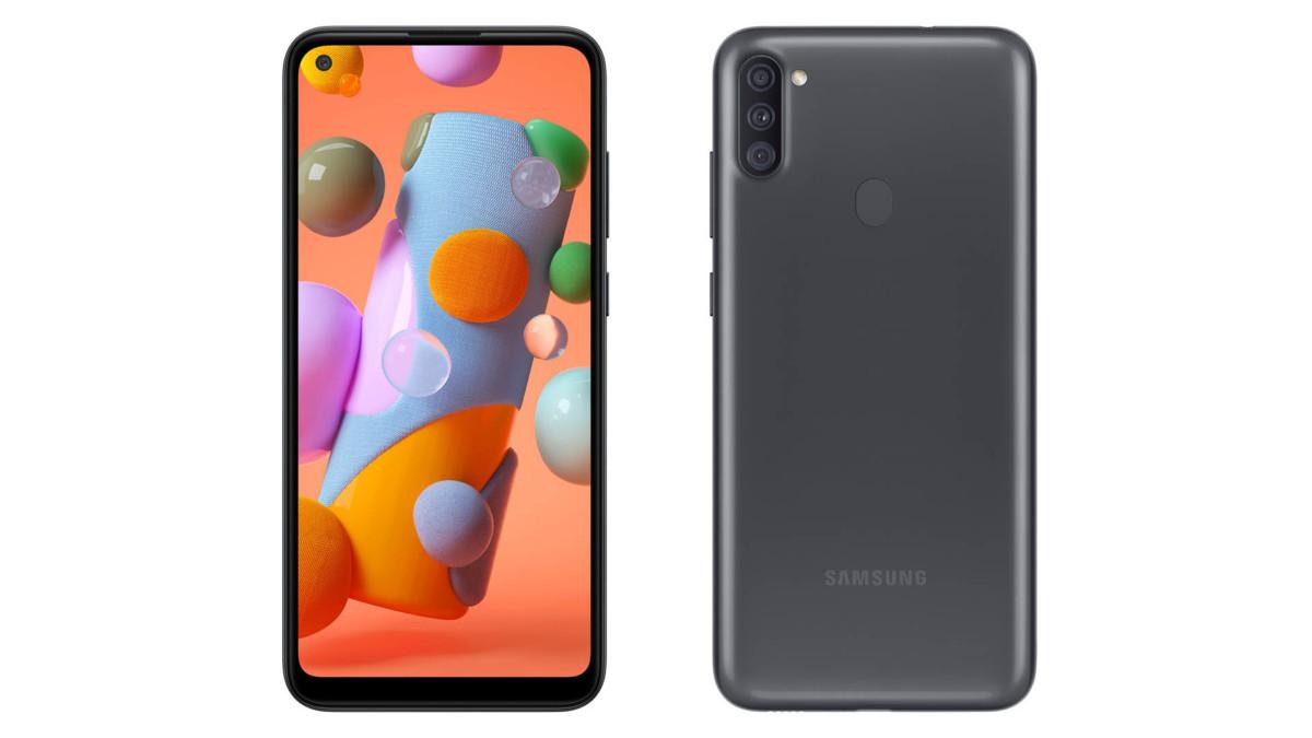 Samsung Galaxy A11 officialisé en catimini: l'entrée de gamme reçoit un triple appareil photo