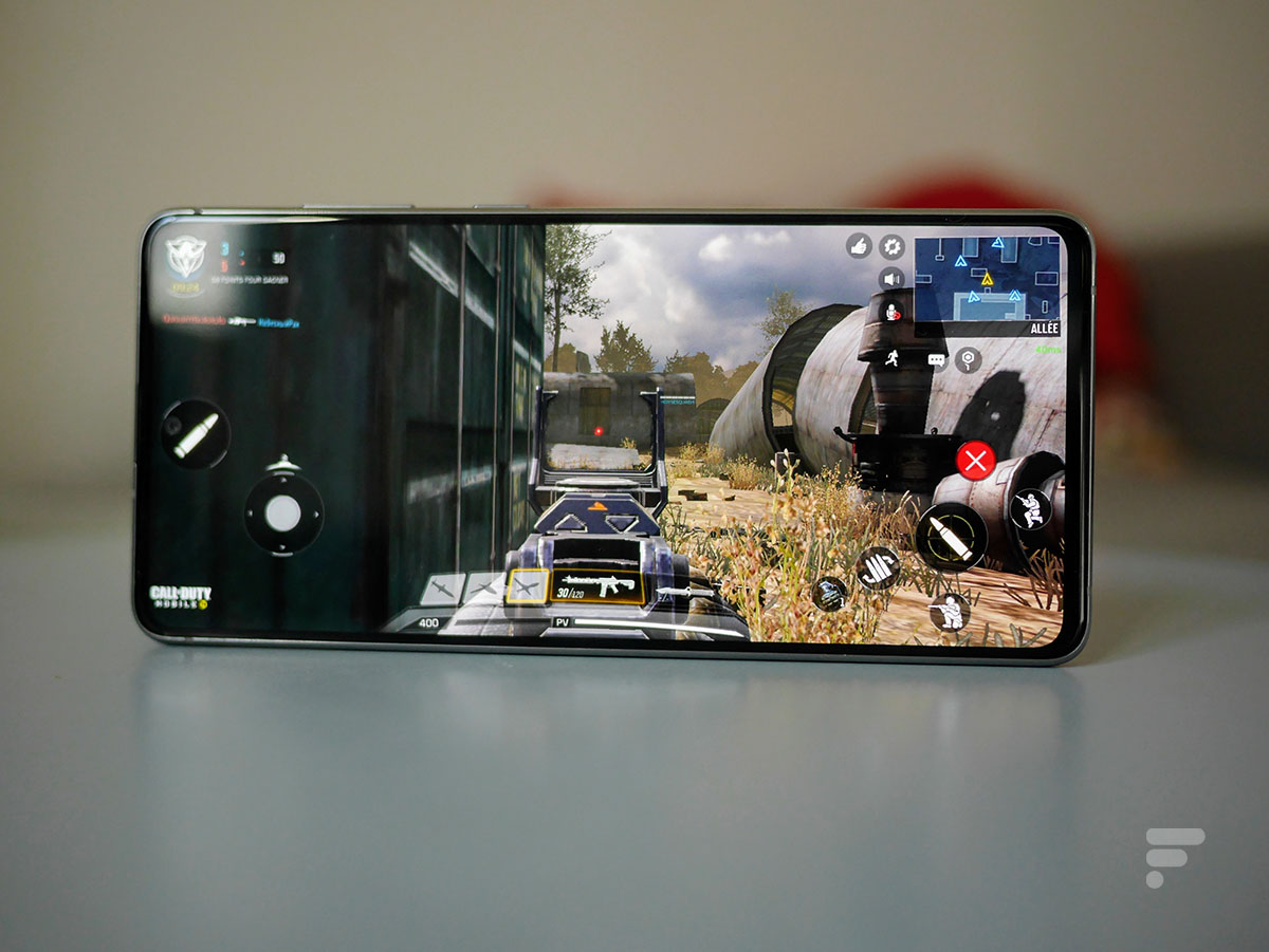 Call of Duty Mobile sur le Samsung Galaxy Note 10 Lite