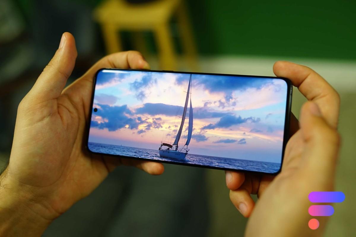 Superbe écran pour le Samsung GalaxyS20+