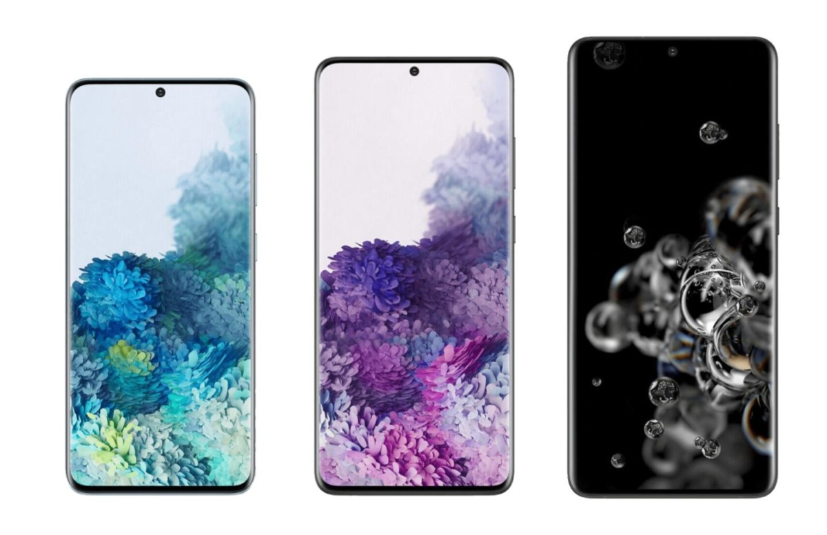 Samsung Galaxy S20, S20+ et S20 Ultra