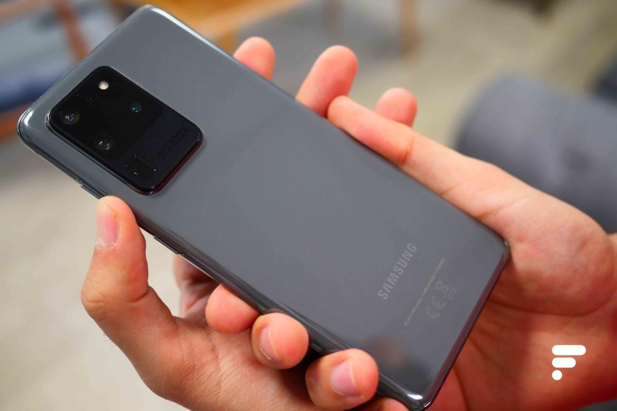 Le Samsung Galaxy S20 Ultra compte parmi les premiers smartphone capables de filmer en 8K