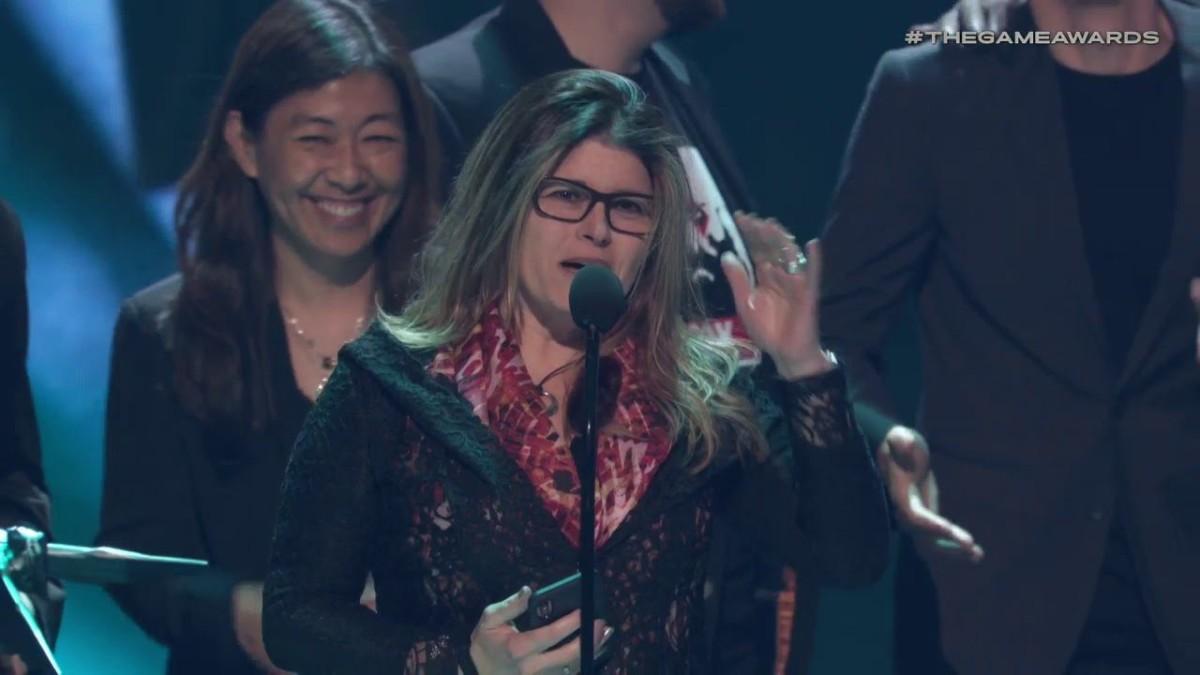 Shannon Studstill aux Game Awards