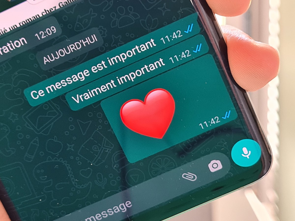 L'application WhatsApp sur Android