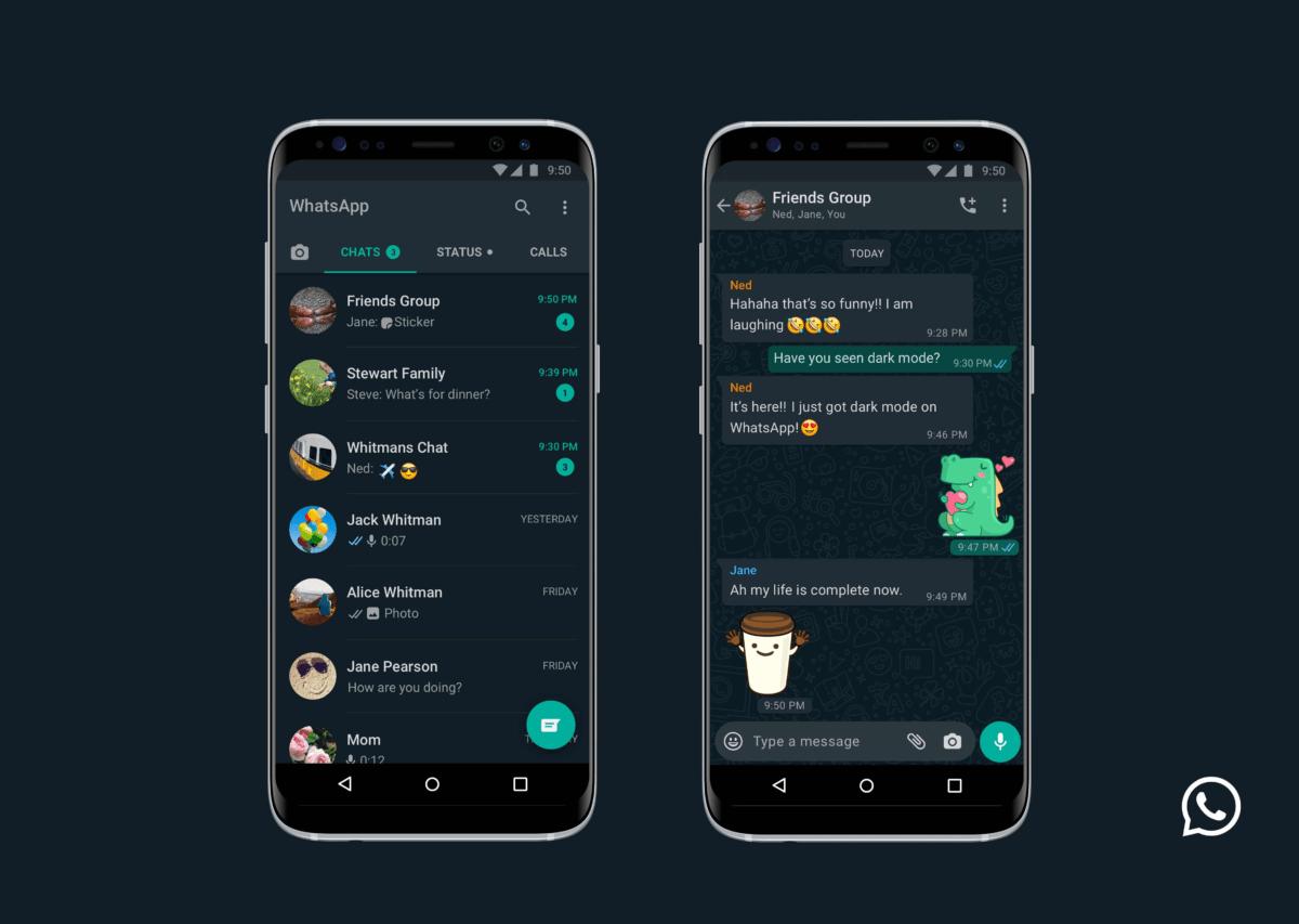 WhatsApp : le thème sombre est disponible, voici comment l'activer