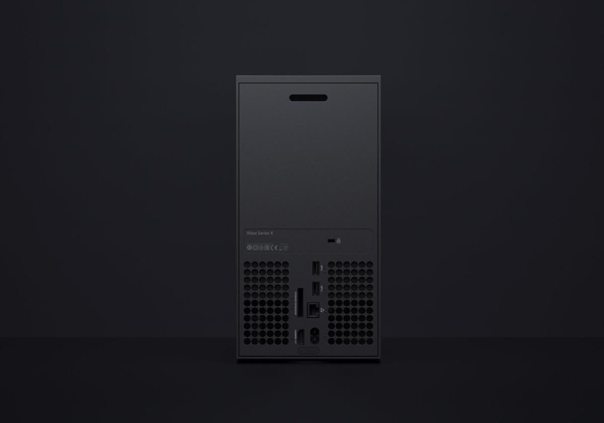 Les ports de la Xbox Series X