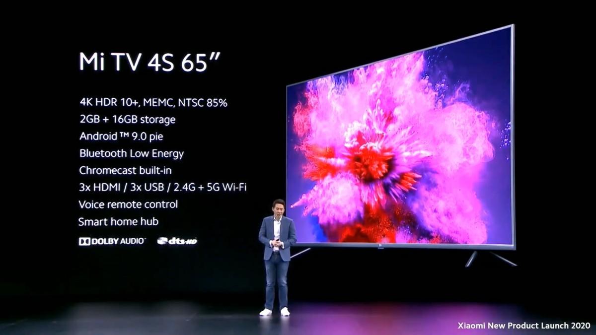 Fiche technique Xiaomi Mi TV 4S