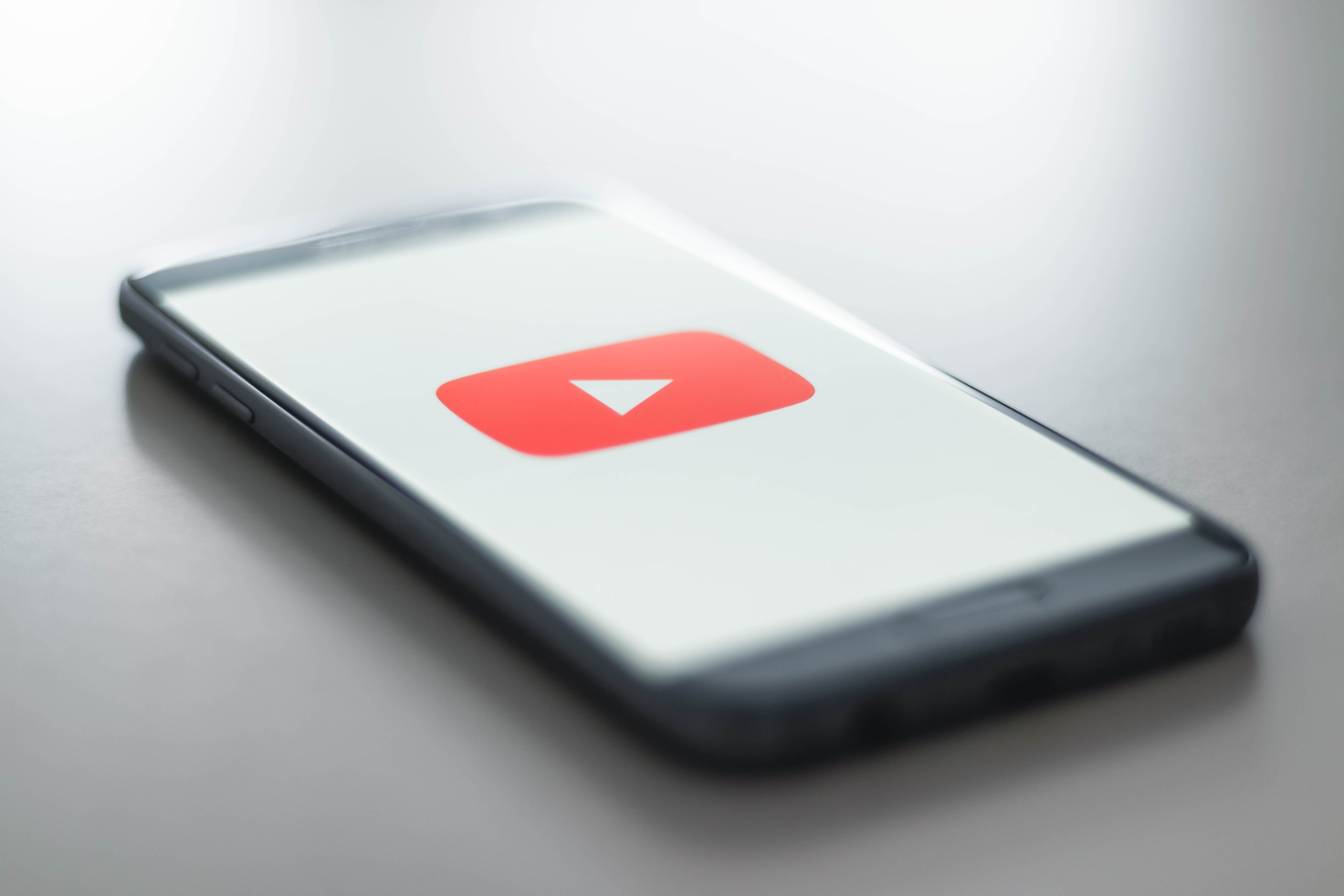 YouTube sur smartphone