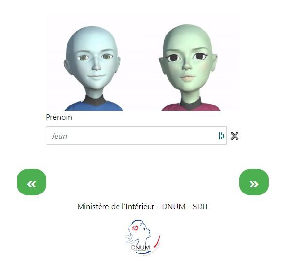 Un prototype qui utilise des animations 3D et des voix dans plusieurs langues