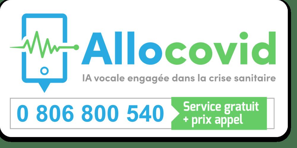Numéro d'appel IA AlloCovid