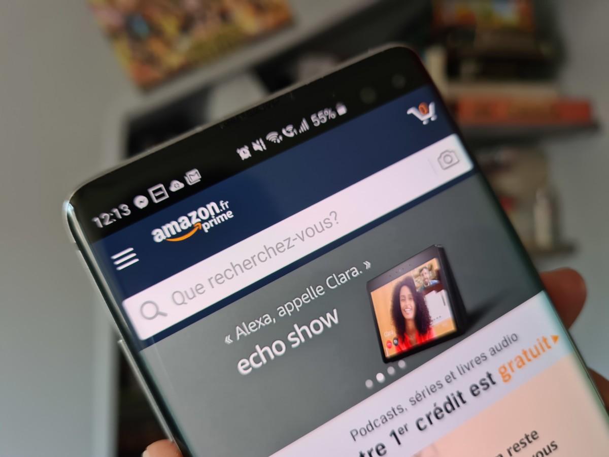 L'application mobile d'Amazon