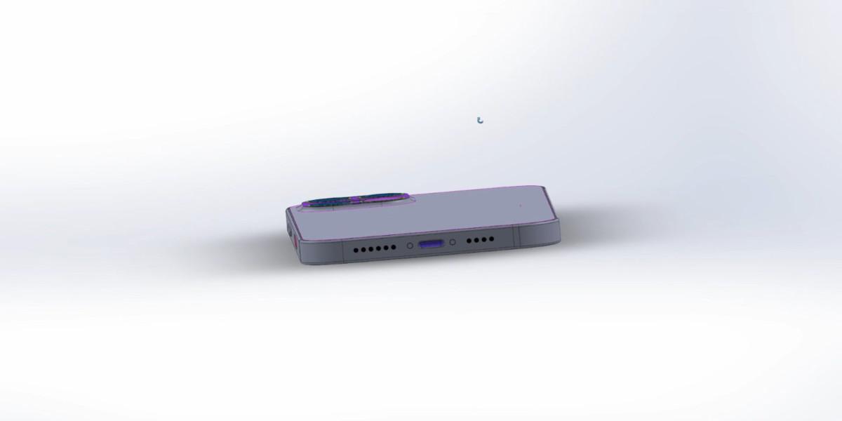 Le port Lightning de l'iPhone 12 Pro
