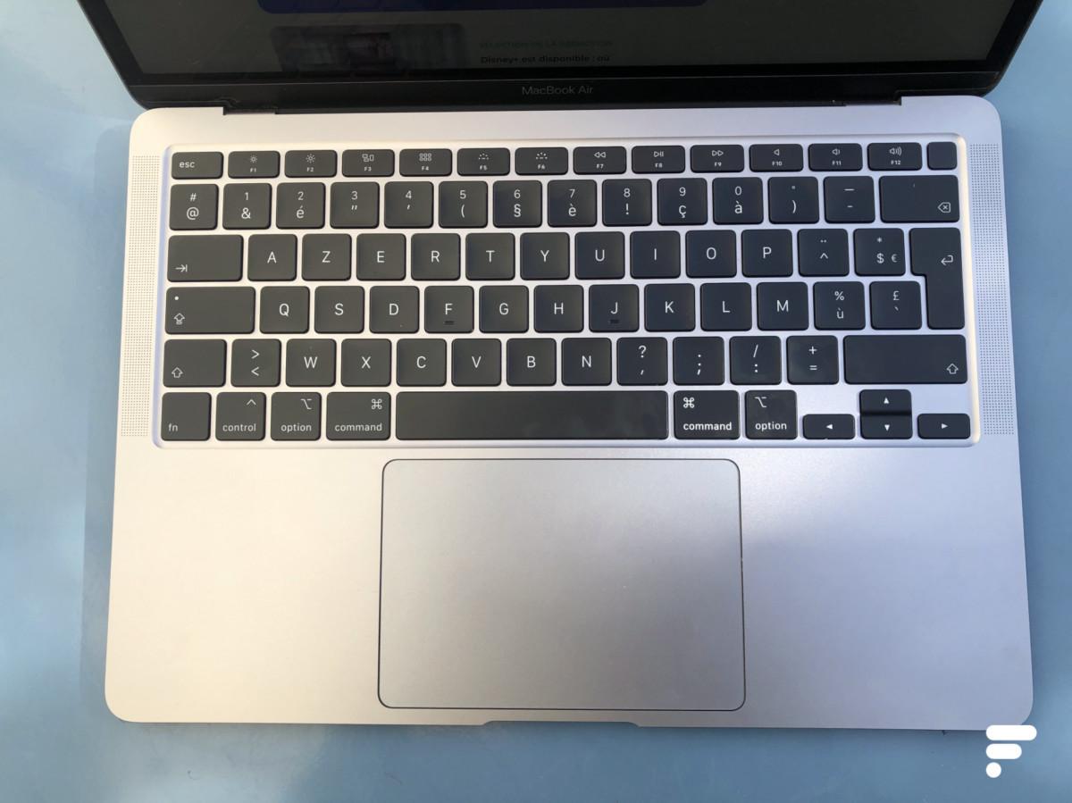La disposition du clavier Mac