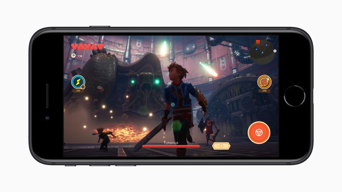 Oceanhorns 2, un superbe Zelda-like disponible sur Apple Arcade, tournera sans aucun problème sur l'iPhone SE.