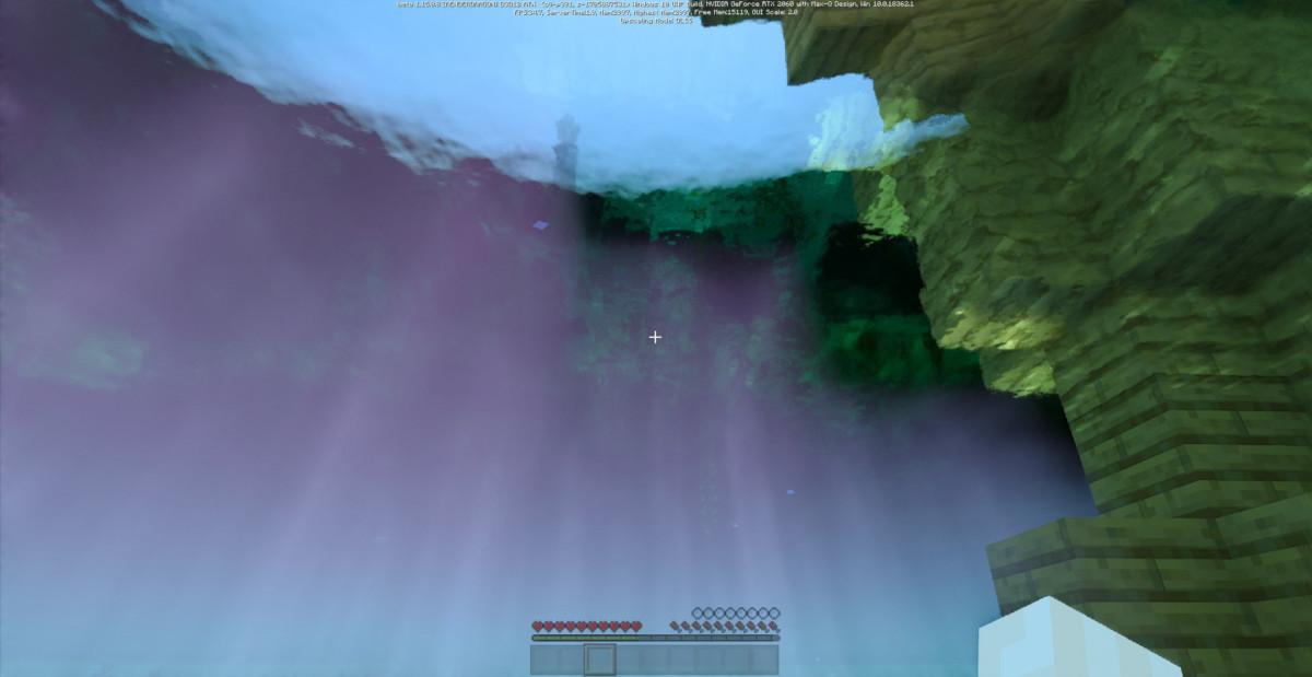 L'effet du ray tracing sur Minecraft est saisissant