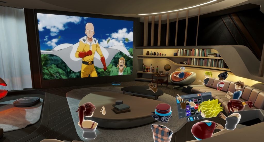 Application Bigscreen sur Oculus Quest