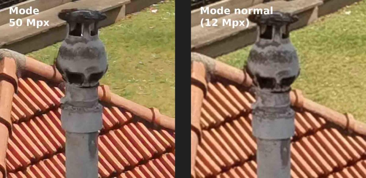 Mode 50 mpx contre mode 12 mpx sur le Huawei P40