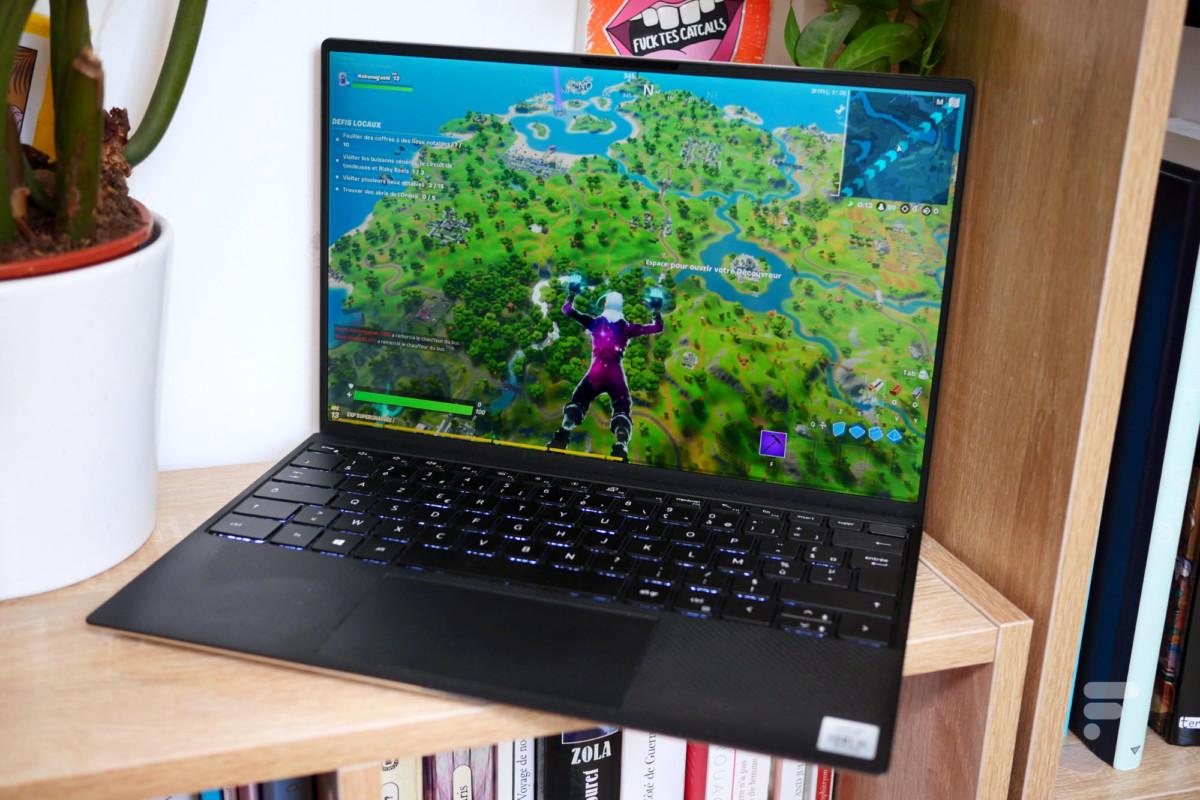 Fortnite sur le Dell XPS 13 2020