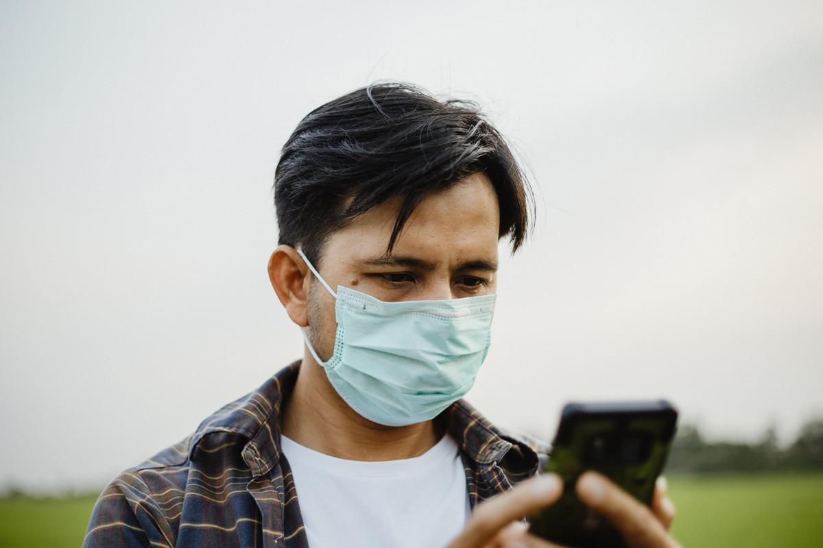 Difficile de déverrouiller son smartphone avec un masque