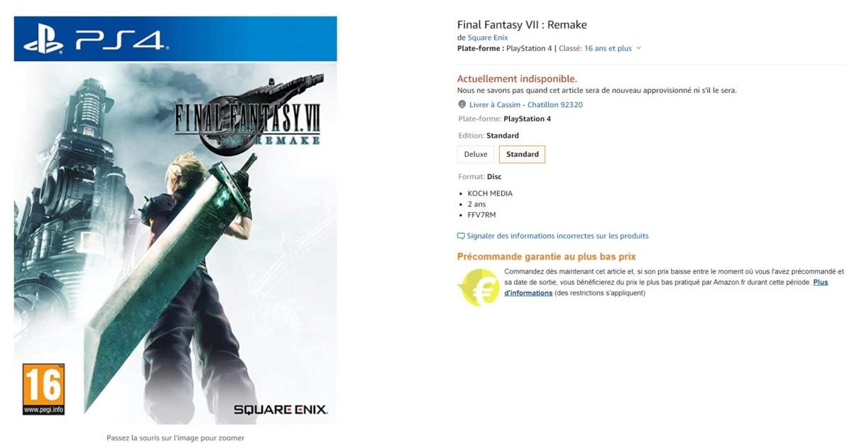 Amazon France suspend la vente de la plupart des jeux vidéo