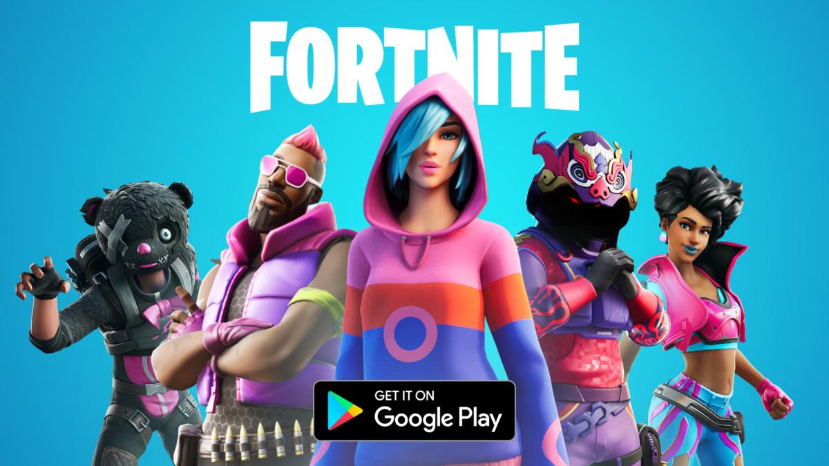 Fortnite sur le Google Play Store