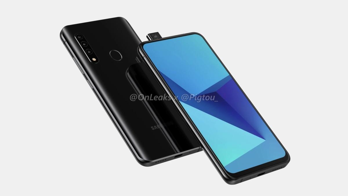 Le téléphone Samsung avec appareil photo rétractable