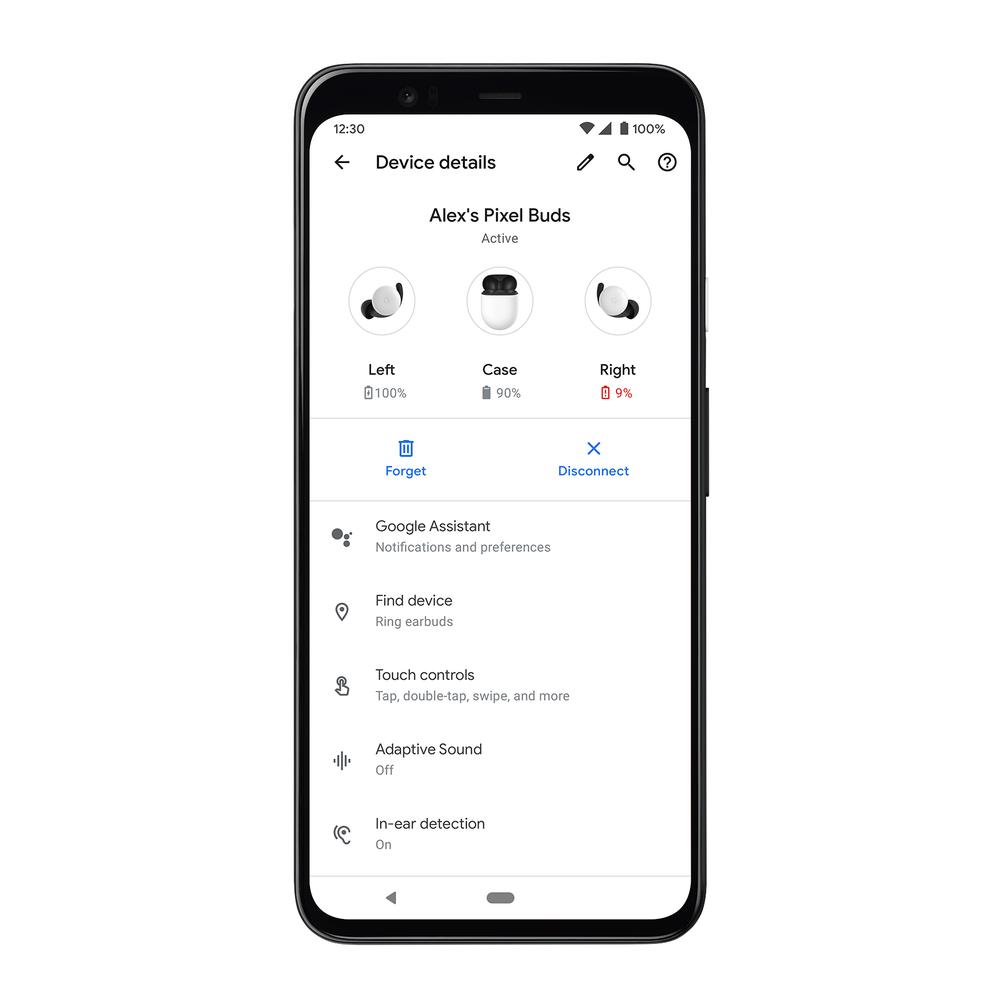 Google Fast Pair réglages
