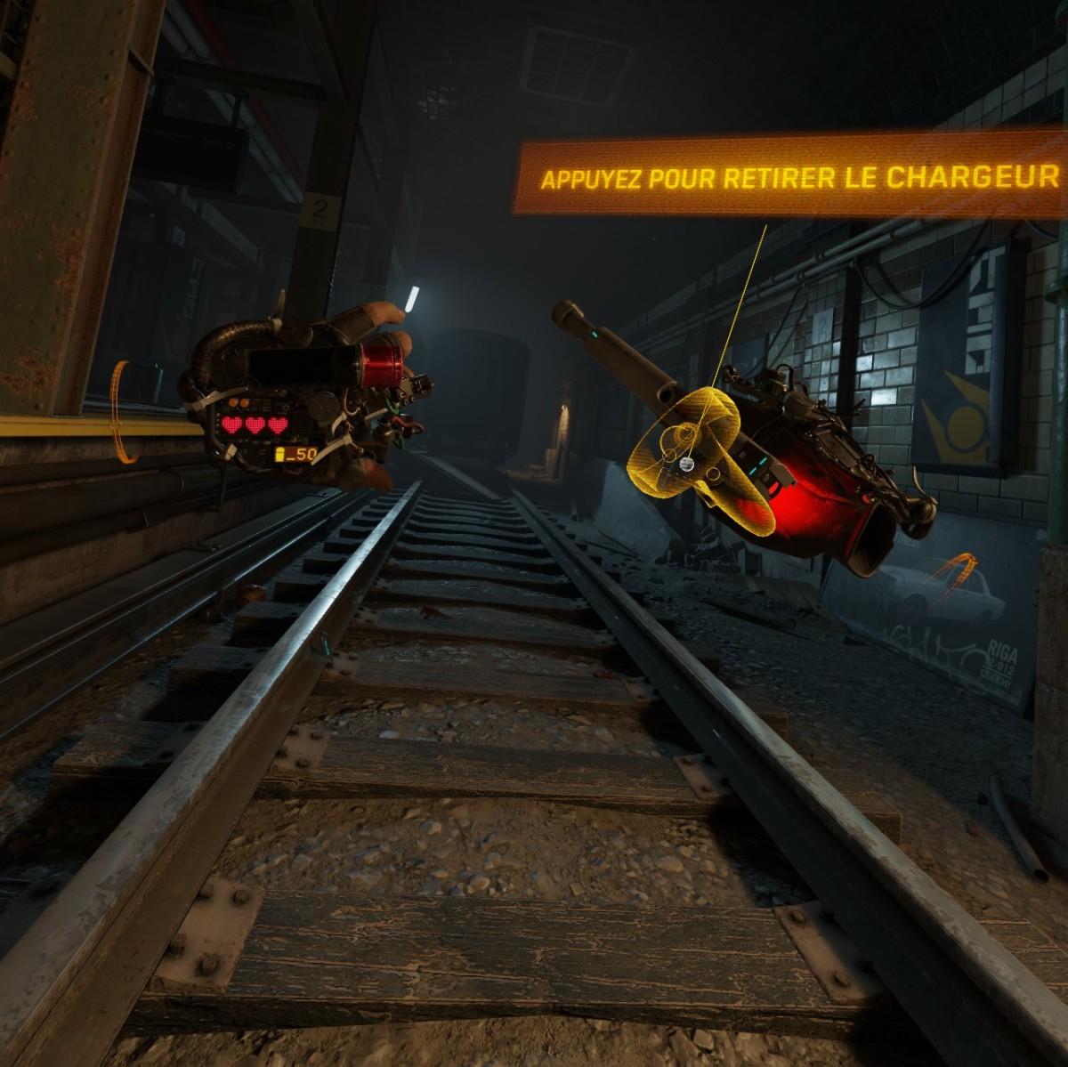 Les contrôleurs Oculus Touch sont gérés nativement dans Half Life Alyx