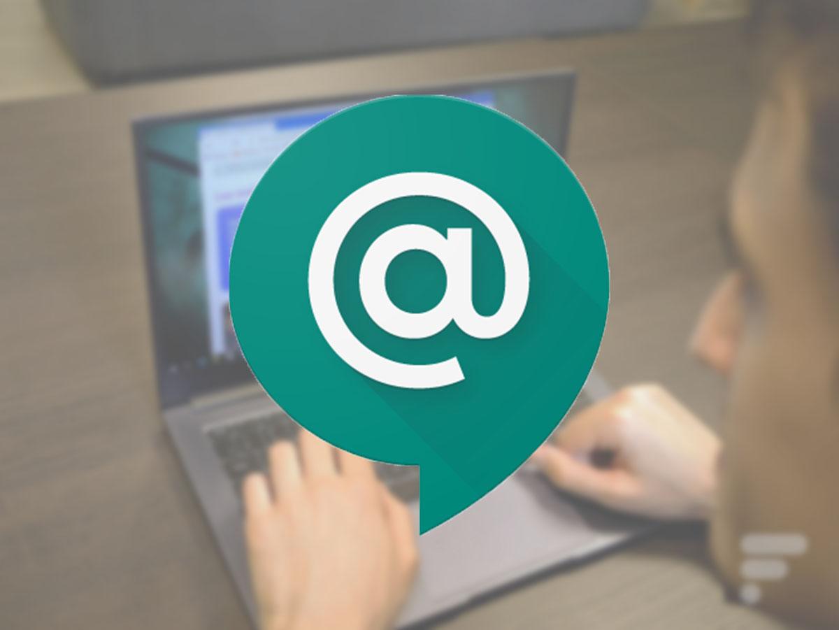 Le nouveau logo de Google Chat